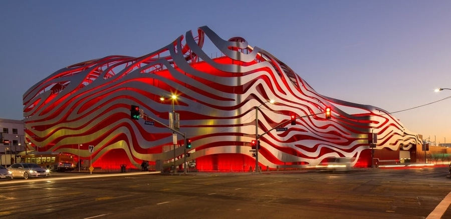 Petersen Automotive Museum, a museum to go in Los Angeles