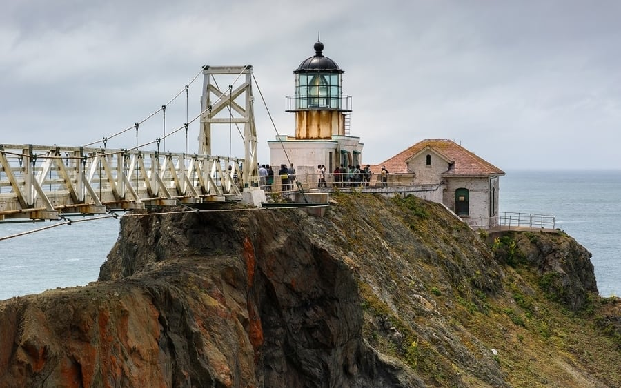 Point Bonita Lighthouse, one of the most beautiful places in San Francisco