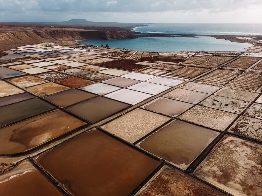 Janubio Salt Flats, a place to go in Lanzarote