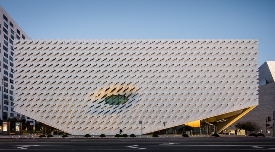 The Broad, a contemporary art museum to go in LA