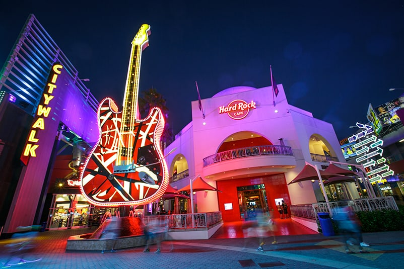 Universal CityWalk, a shopping center to visit in Los Angeles