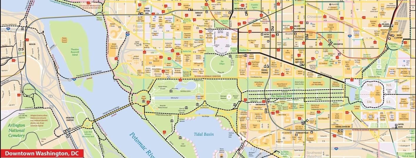 washington dc maps