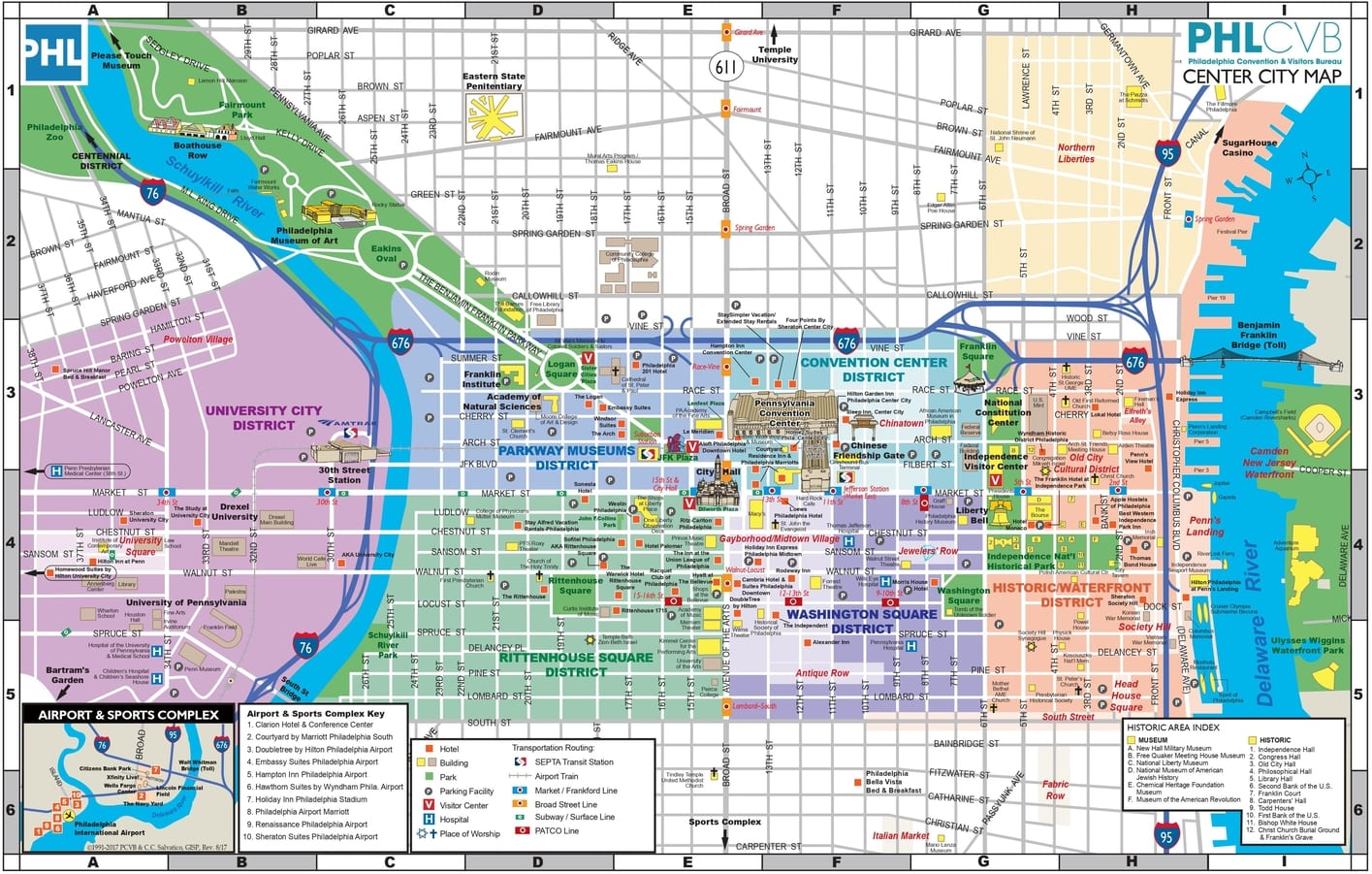 The Philadelphia high-resolution map