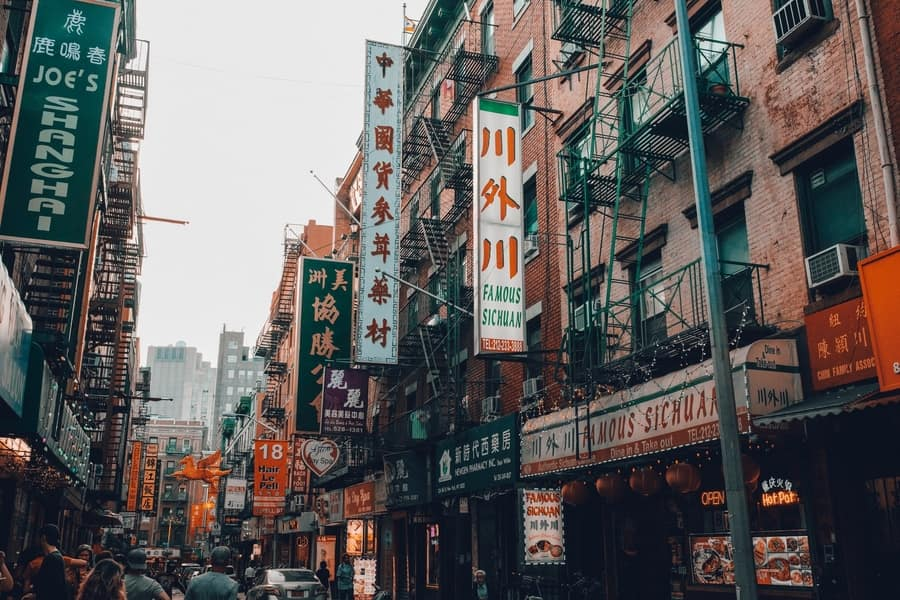 Chinatown, top attractions in New York City