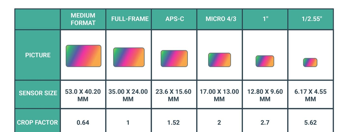 understanding camera sensor size why it matters