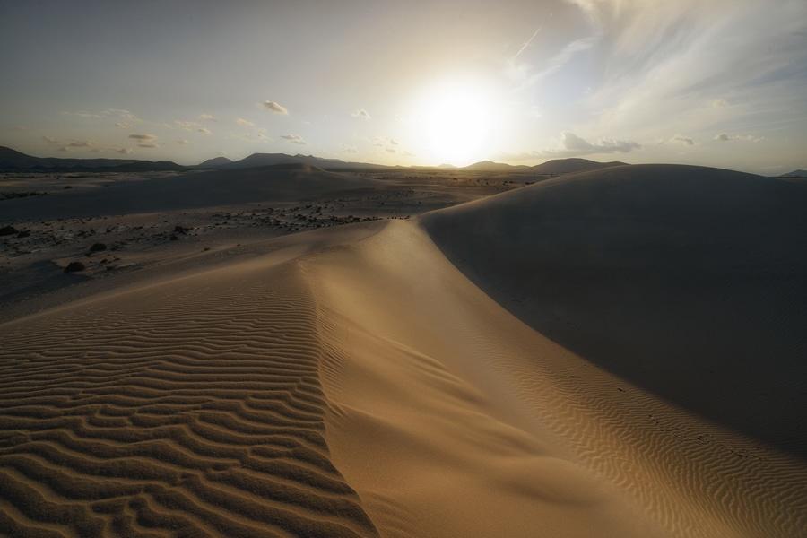 recorrer las dunas de corralejo algo que hacer en Fuerteventura