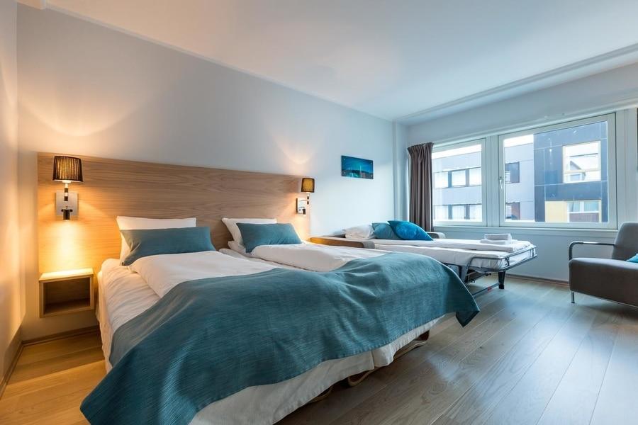 Enter City Hotel, alojarse en el centro de Tromso, Noruega