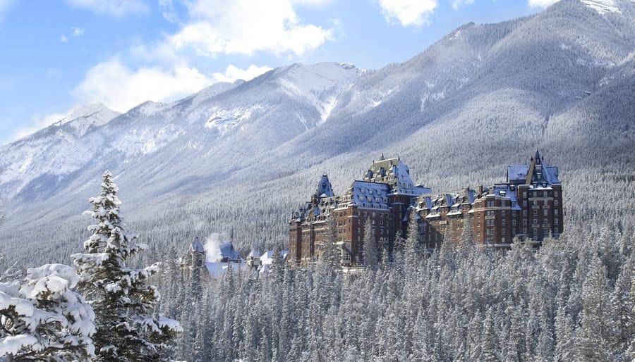 Fairmont Banff Springs, uno de los mejores hoteles en Banff