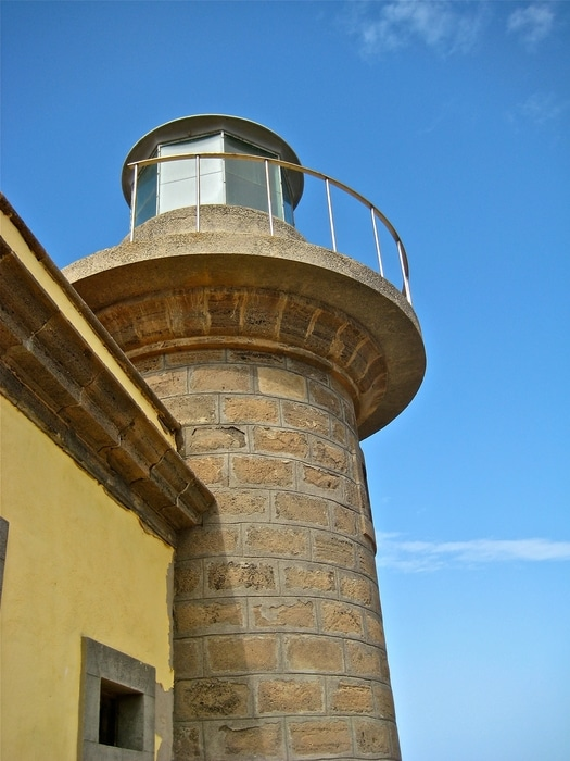 Punta Martiño Lighthouse, a place to visit on Lobos Island