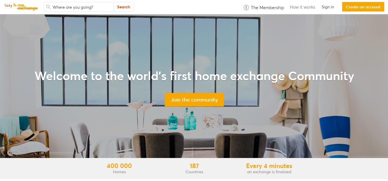 Home exchange to get cheap hotel rooms