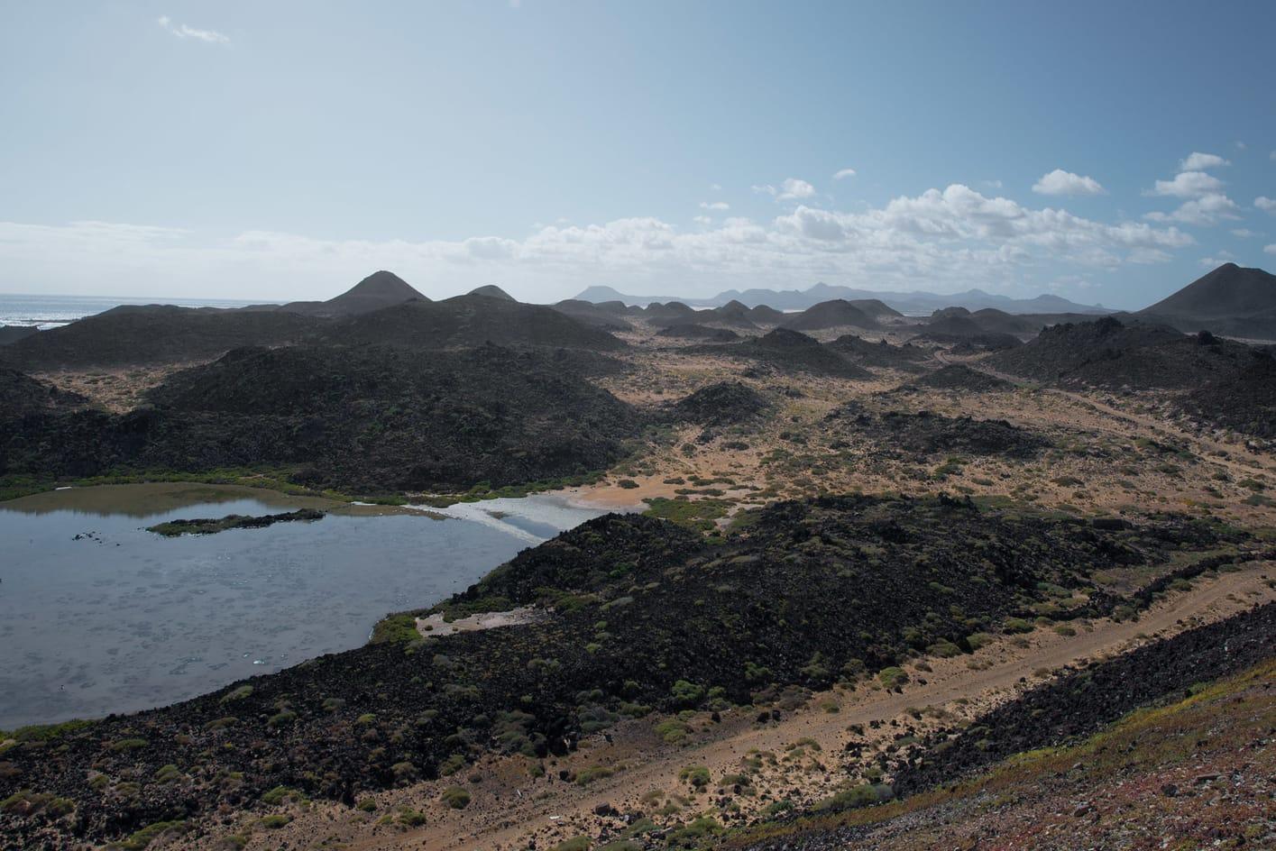 Las Lagunitas, a place to visit in Lobos Island, Canary Islands