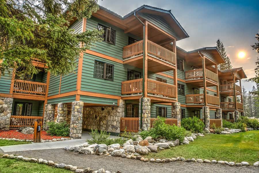 Lake Louise Inn, un lugar muy barato donde alojarse en Banff