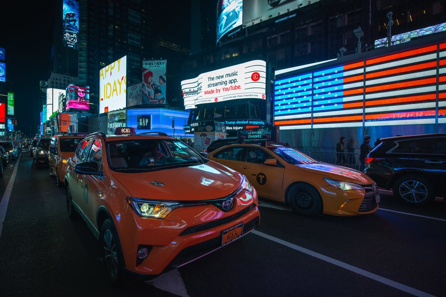 Times Square, what to see in NYC