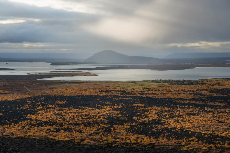 Mývatn, where to stay near the volcanic lake in Iceland