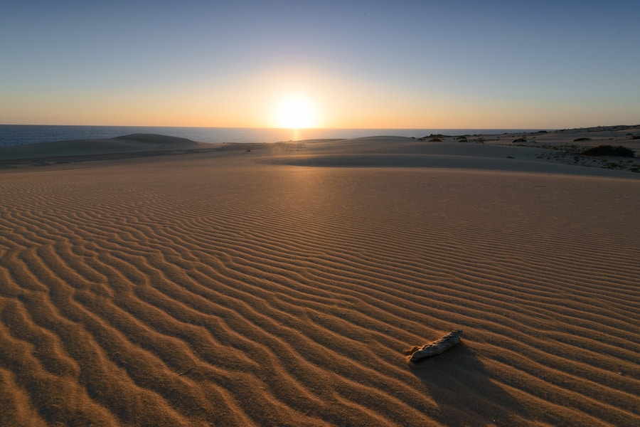 La playa de Corralejo una de las playas más bonitas de Fuerteventura