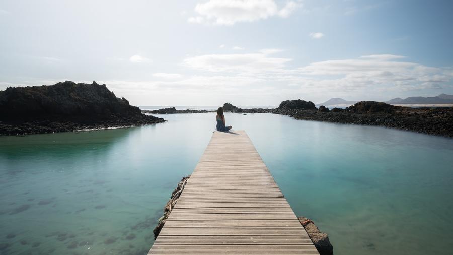 Puertito de Lobos, a place you have to visit in Lobos Island