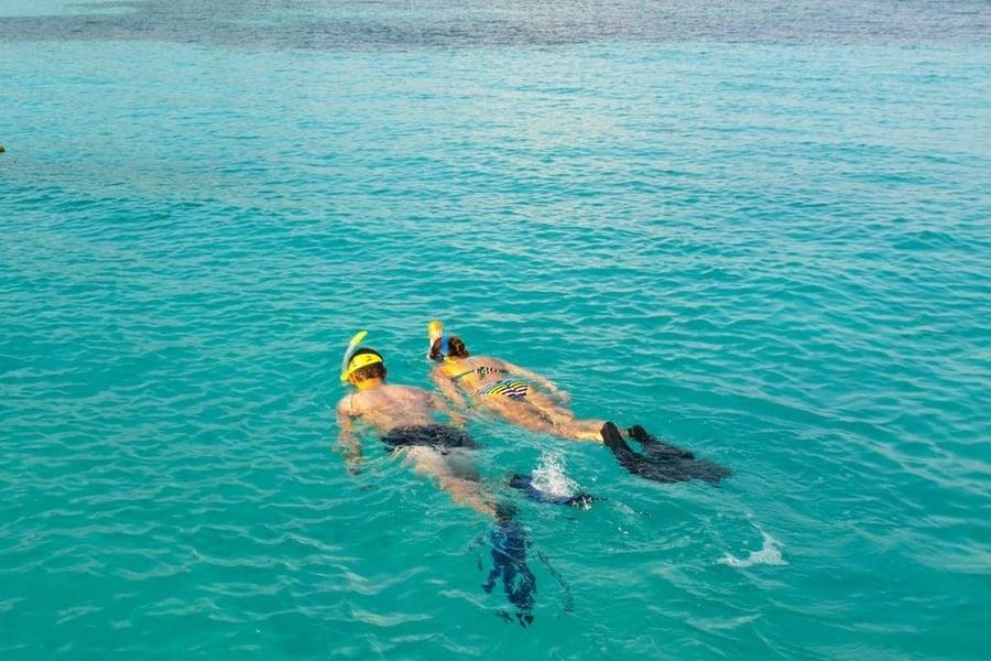 Snorkeling, something to do in Lobos Island