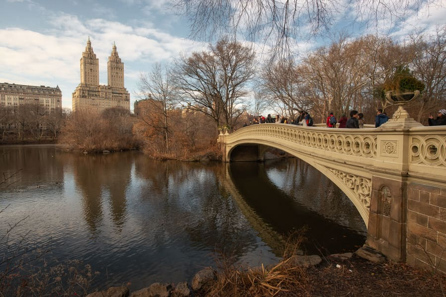 Central Park, places to visit in New York City