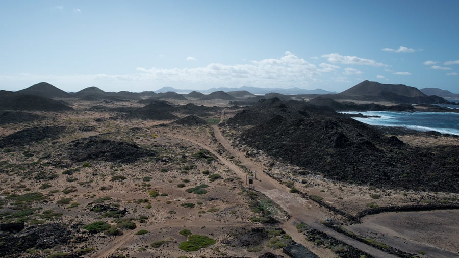 Excursion to Lobos Island to visit Fuerteventura