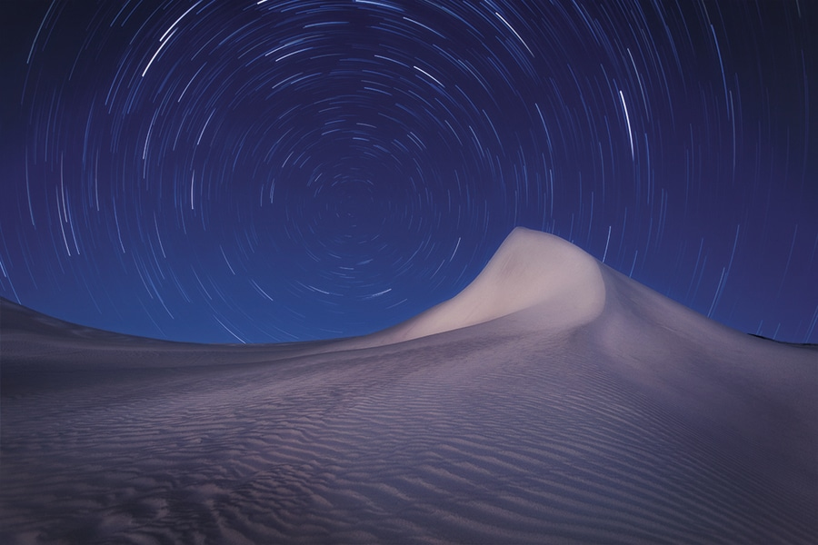 shooting stars example long exposure photography