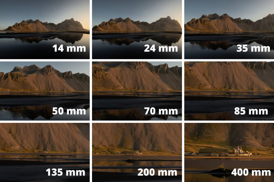 what is focal length examples