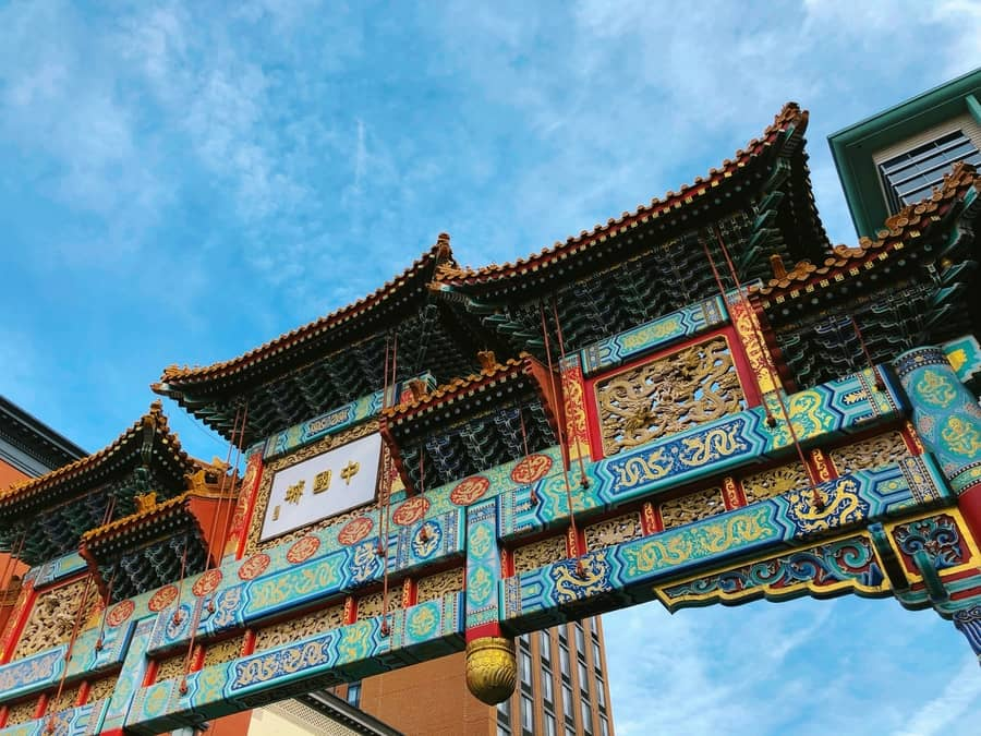 Chinatown, places to stay in Washington D.C. USA