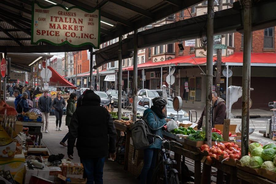 Italian Market, free things to do in Philadelphia