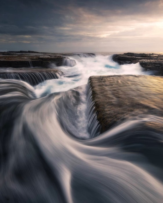 silky effect long exposure landscape photography
