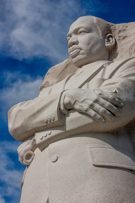 Martin Luther King, Jr. Memorial, historical things to do in Washington DC, USA