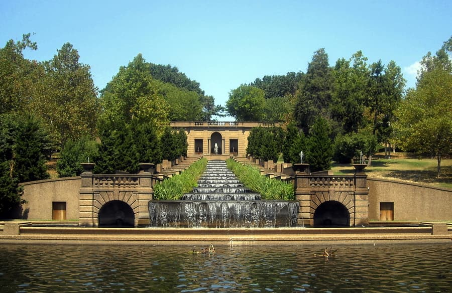 Meridian Hill Park, best places to go in Washington DC, USA
