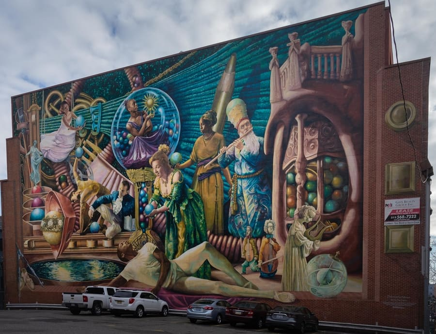 The Mural Arts Philadelphia tour, things to do in Philadelphia
