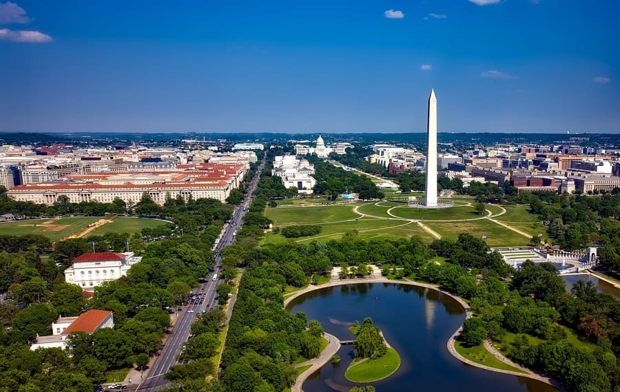 National Mall, best things to do in DC