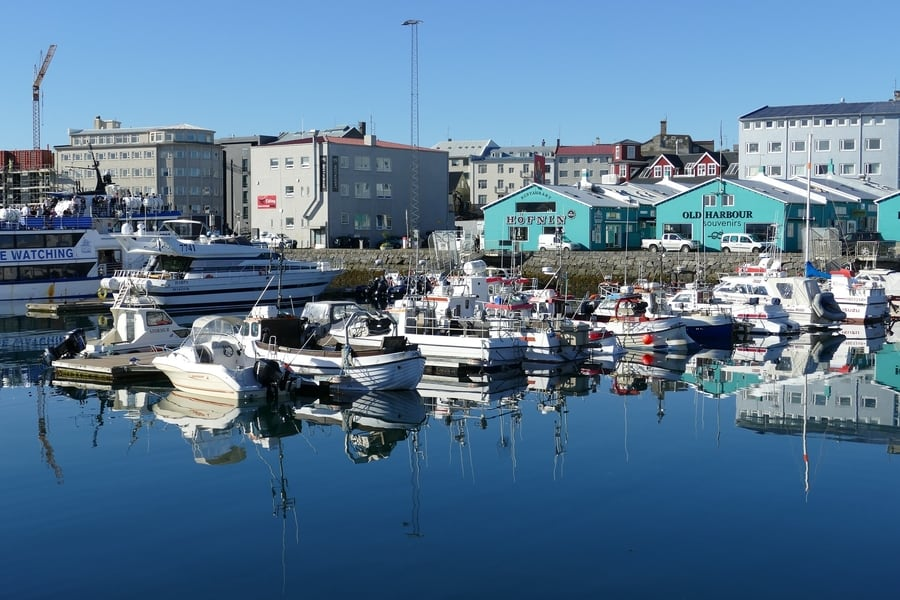 Old Harbour, something you can't miss in Reykjavík, Iceland