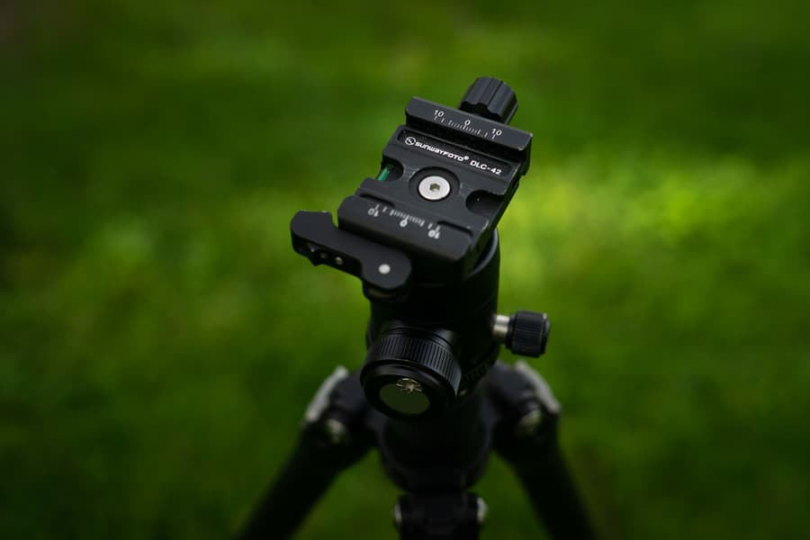 Sunwayfoto T1C40T tripod - Ball head review