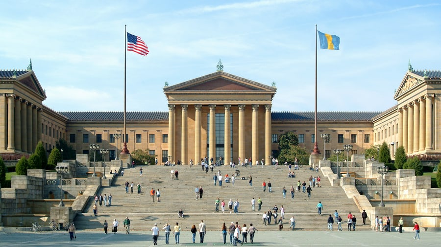 The Philadelphia Museum of Art, places to visit in Philadelphia