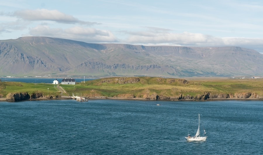 Viðey Island, one of the excursions to do in Reykjavík