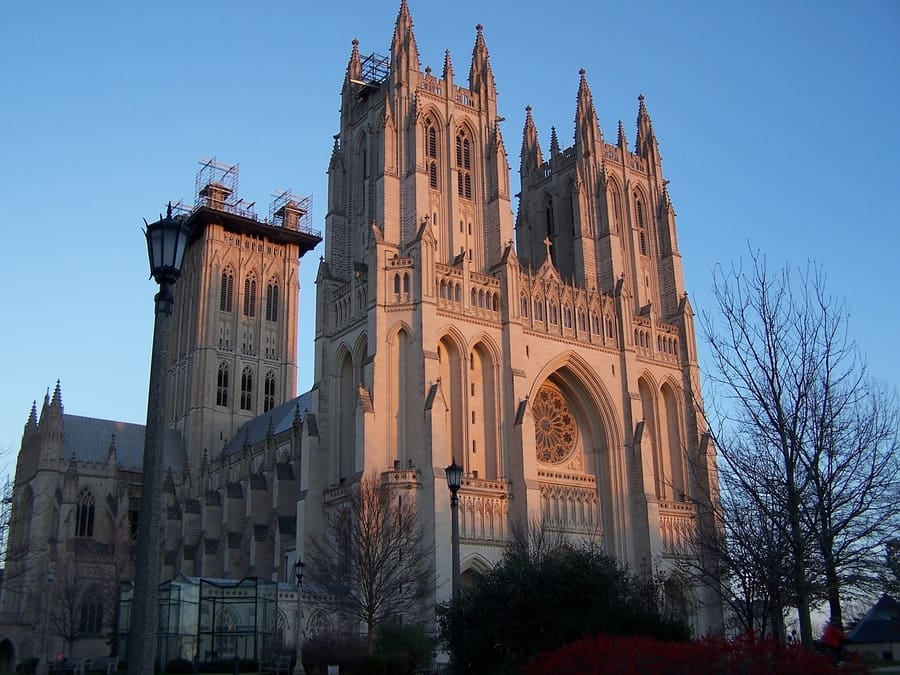 Washington National Cathedral, places to go in DC