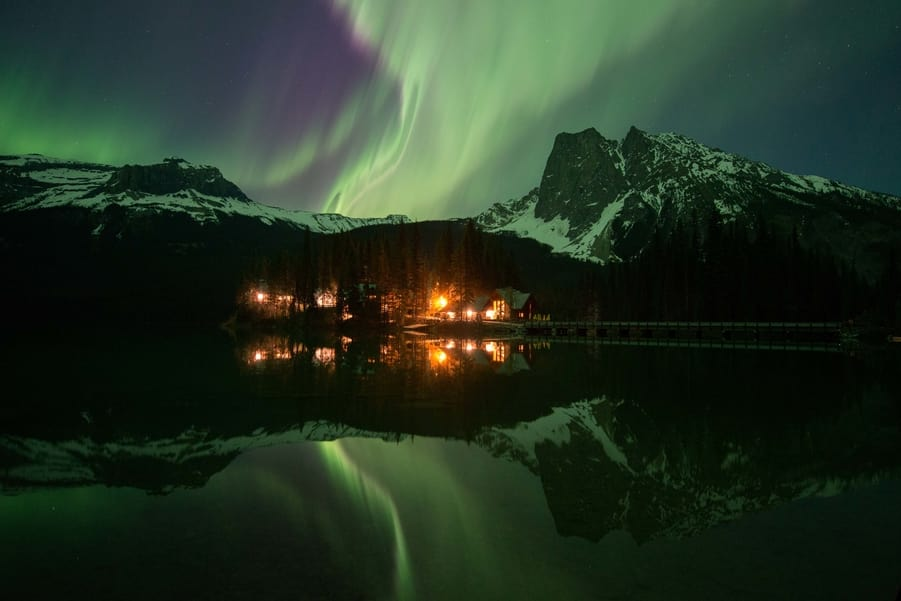 Best white balance for Northern Lights photography