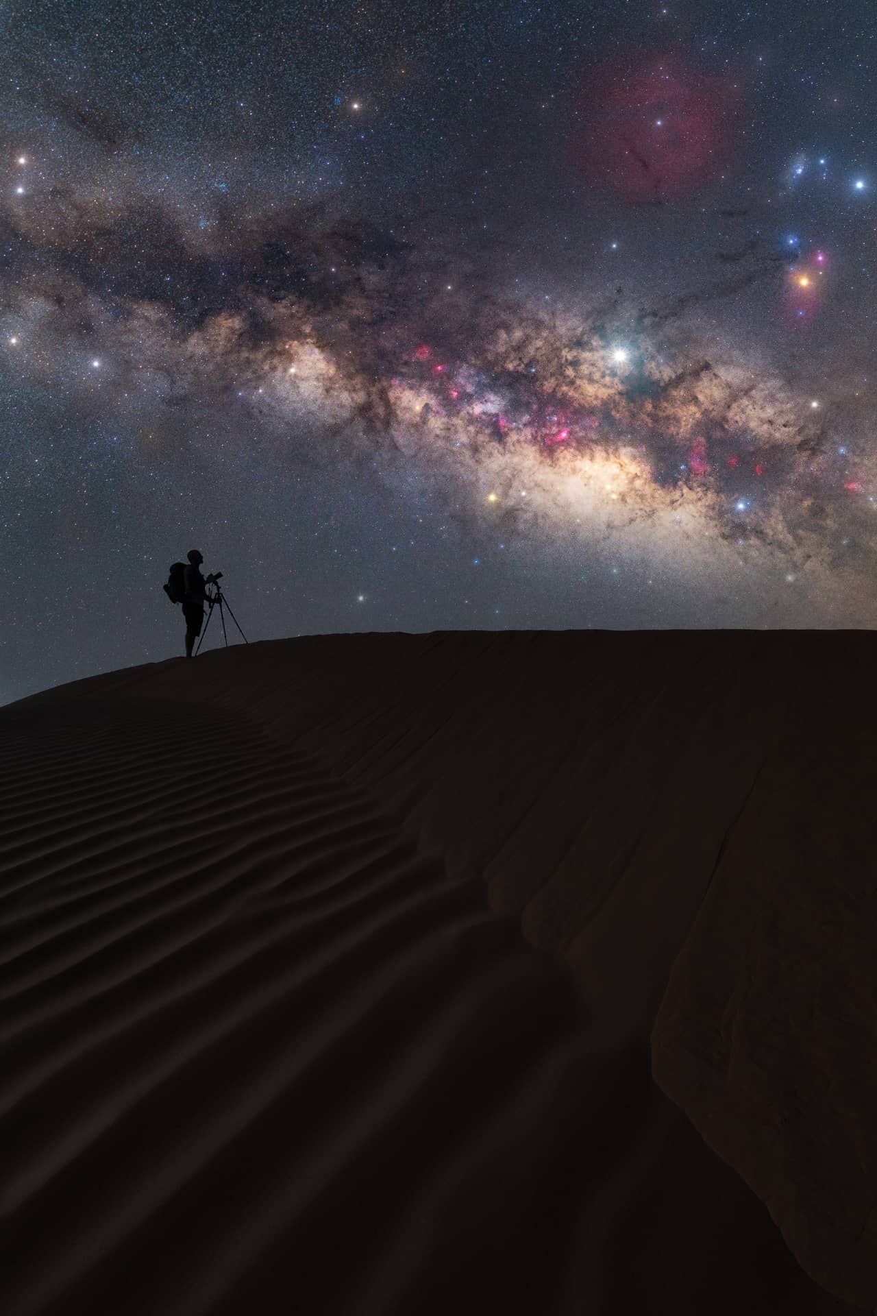 Where to see the Milky Way in the Sahara