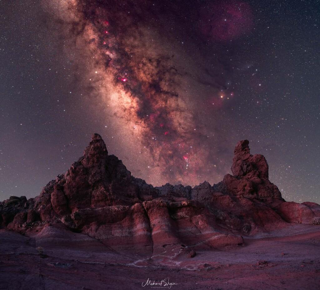 «Vía Láctea sobre el Parque Nacional del Teide» – Mehmet Ergün