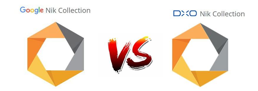 Google's Nik Collection vs. DXO Nik collection