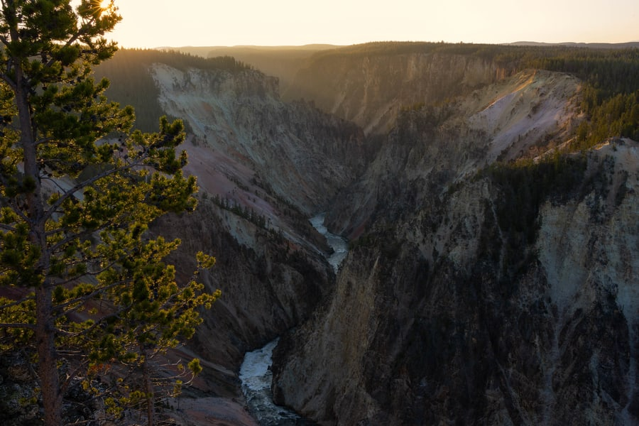Grand Canyon, what to see at Yellowstone
