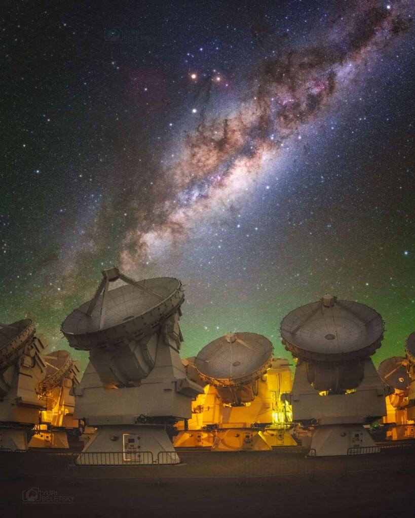 «Antenas del ALMA» – Yuri Beletsky