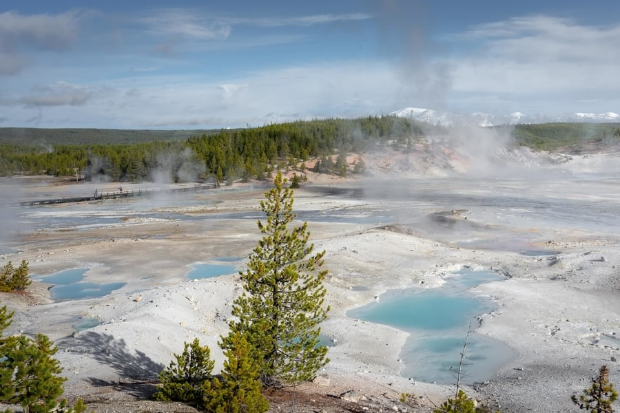 Norris Geyser Basin, things to do at Yellowstone Park
