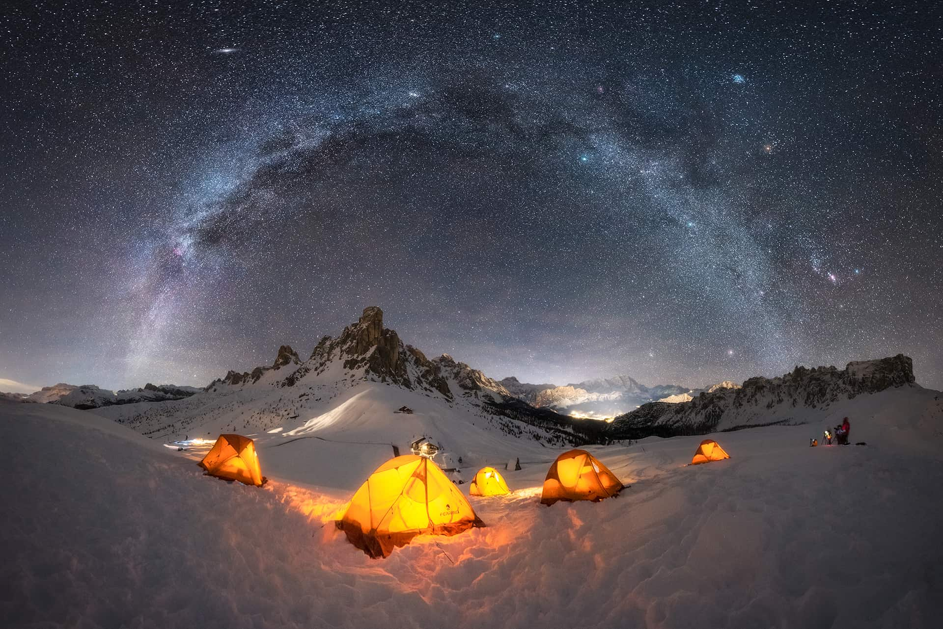 Best places to see the Milky Way in Europe
