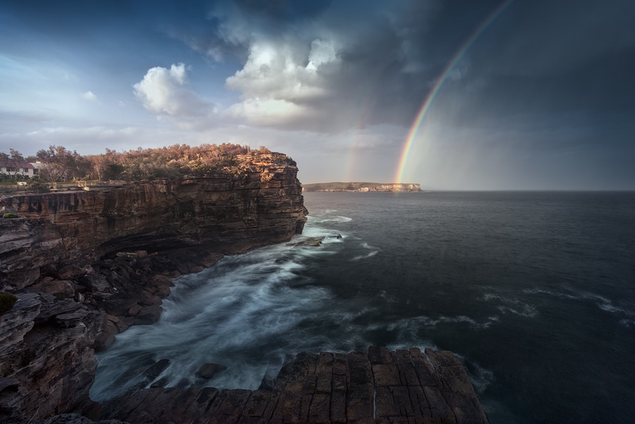 1. Daytime Long Exposure Photography Idea - Cliffs
