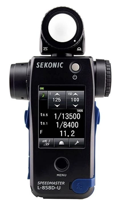 how to use a handheld light meter