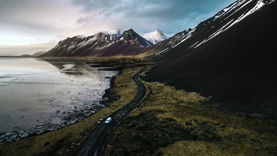 Iceland Ring Road winter