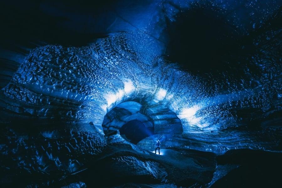 Cueva de hielo de Katla, el tour más original desde Reikiavik