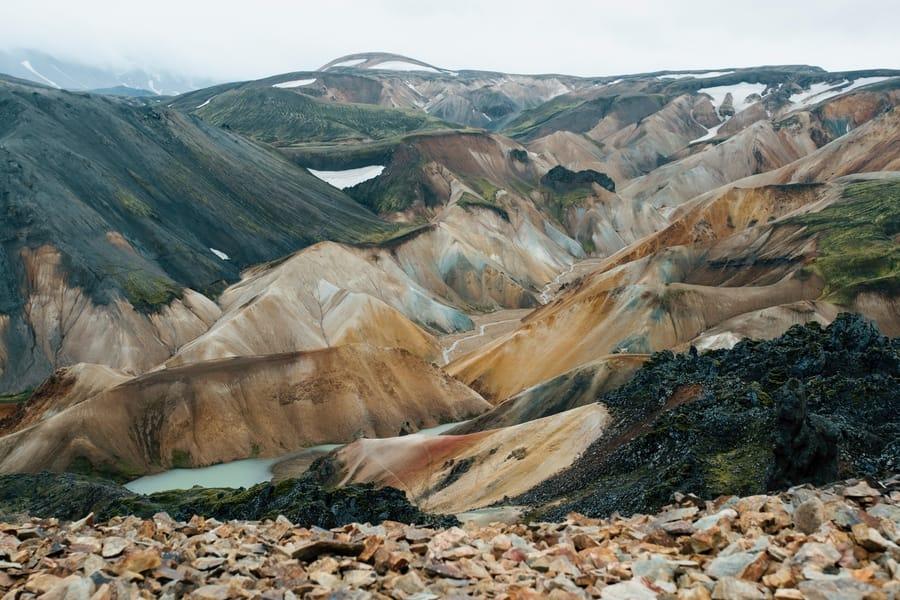 Landmannalaugar, tours desde Reikiavik para disfrutar del senderismo